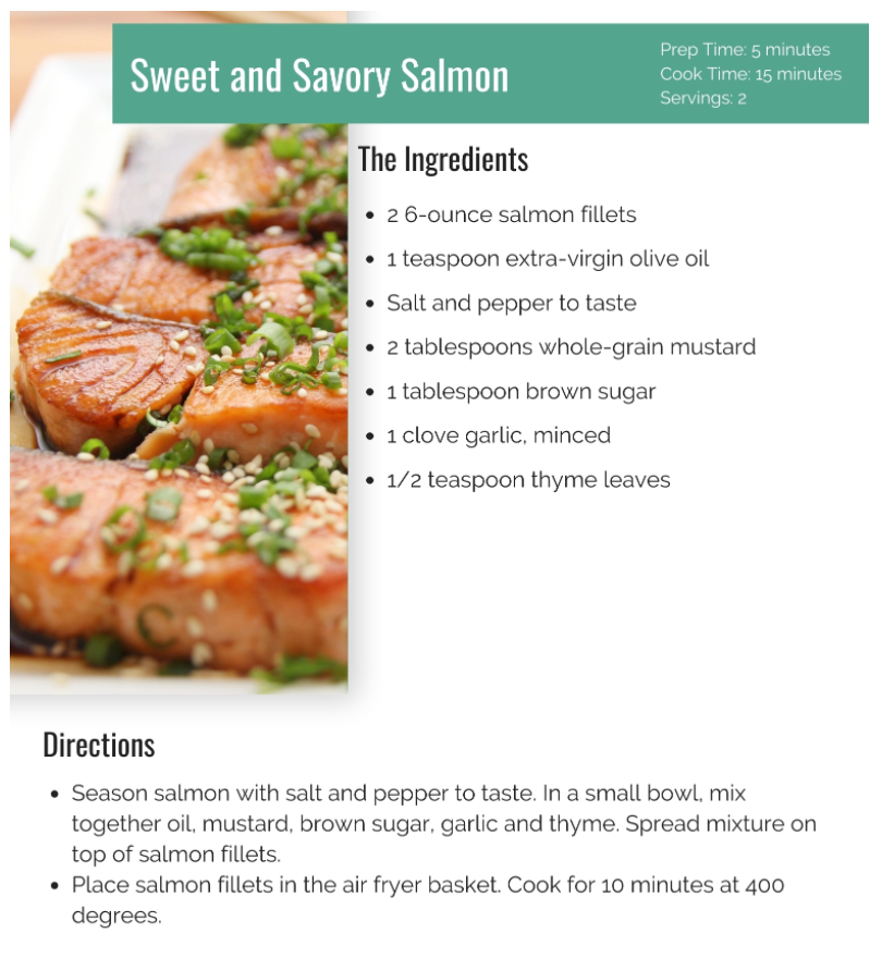 Click image for larger version.  Name:Salmon Recipe.PNG Views:187 Size:624.0 KB ID:132